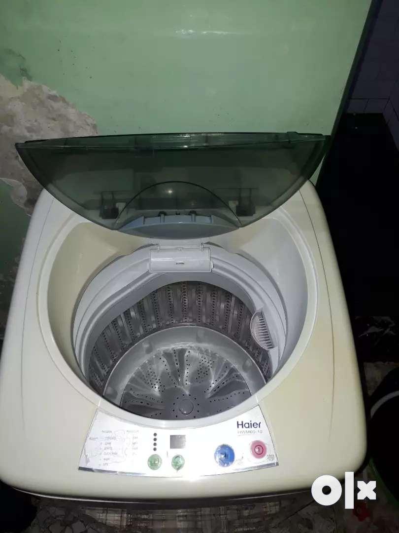 Haier washing machine 0