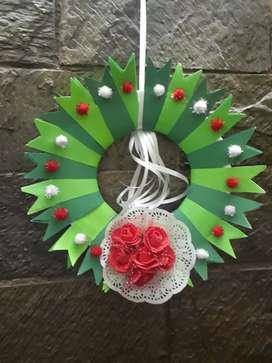 CHRISTMAS WREATH FOR DECORATION