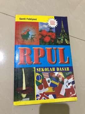 Buku RPUL Sekolah Dasar