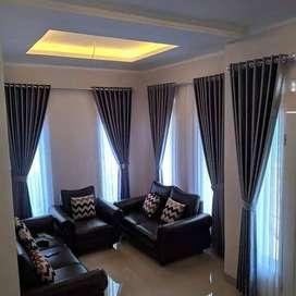 Korden Tirai Hordeng Gorden Curtain Blinds Gordyn Wallpaper Dinding