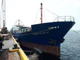 Dijual cepat kapal CARGO mesin sehat .