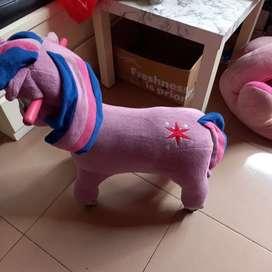 Kuda pony pake roda + music