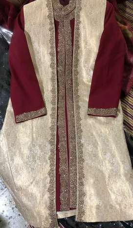Bride Groom dress with Qula and khussa