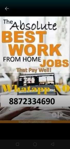 Weekend job work home based part time