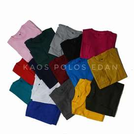 Kaos polos combed 30s kerensss