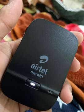 Airtel 4g Wifi Hotspot Portable Wifi Data Card Dongle New Condition