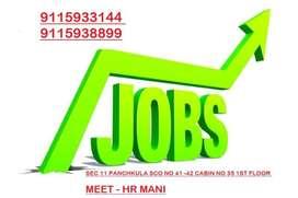 Hotel & Restaurant jobs for  Chandigarh Panchkula Mohali