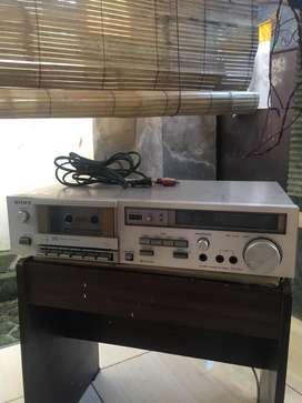 Dijual sony TC-K44 kondisi mekanik tape rusak Daleman ori