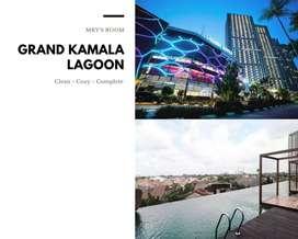 Sewa Apartement Grand Kamala Lagoon Murah Transit & Harian