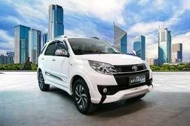 Toyota Rush TRD AT 2015 Putih nopol W bisa kredit bunga spesial