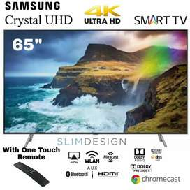 Samsung 65 Inch 4K Crystal UHD Smart LED TV HDR10+ with Apple Airplay2