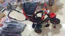 Sepeda roda tiga stroller trex