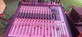 Live or dj mixer sound card singechar 16