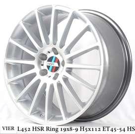 VELG MOBIL VIER L452 HSR R19X8/9 H5X112 ET45/54 HS