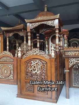 Mimbar masjid wood D841 kode talk
