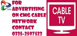 ADVERTISE ON CABLE