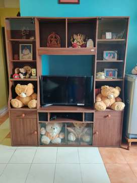Brown wall unit