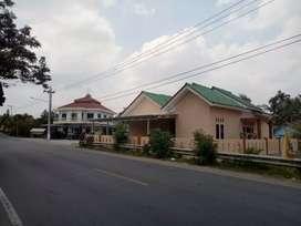 Jual rumah bangunan baru pinggir jalan raya gading rejo