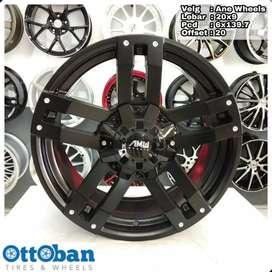 Velg Mobil Pajero Prado Fortuner murah AMW Wheels R20X9 hole 6x139.7