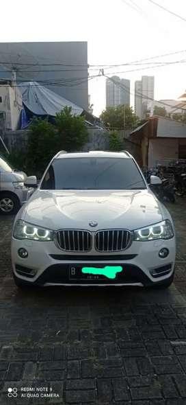 dijual mobil BMW X3 mulus tahun 2017 wrn putih