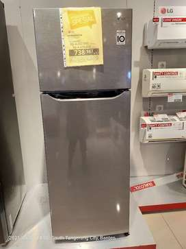 LG Refrigerator GN B215SQMT Promo cicilan tanpa Cc