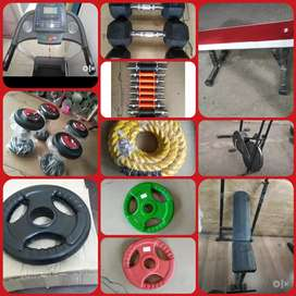 We deals in all type gym equipments used in new