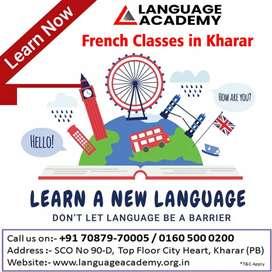 Learn French in Kharar - Mohali- Chandigarh