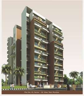2 BHK - Pratik Renaissance, Sector 18,Ulwe,Navi Mumbai