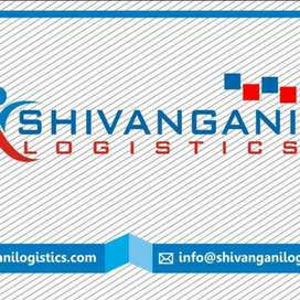 Parcel delivery boys for shivangani logistics in Teok.
