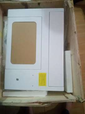 Laser machine for mobile protector making