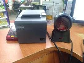 Epson Printer Model TM-T82 and Honey well multi scanner for shops
