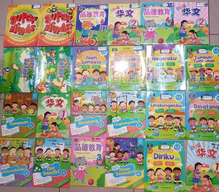 Buku2 Pendidikan TK A dan TK B, Ambil semua 225rb aja