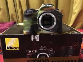 Nikon D7100 Body only box all accessories