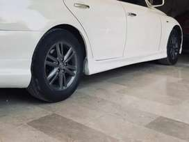 Mark x genuine 16 rims with tyre