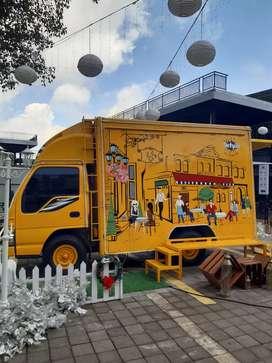 Dijual Isuzu Elf Food Truck Full Kitchen Set