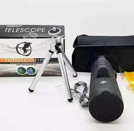 TEROPONG TELESCOPE MONOCULAR 40 X 60 WATERPROFF BAG SUPER ZOOM
