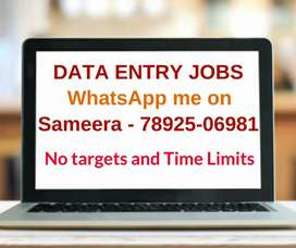Part time / Full time jobs for All. Earn daily Rs.1000/- to Rs.1300/-.