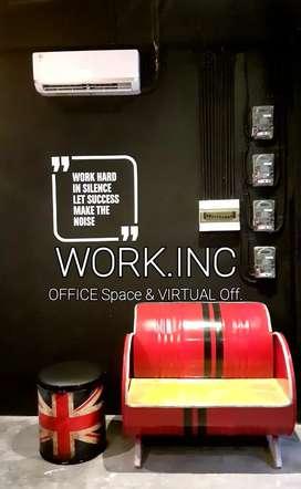 PROMO DISKON 50%! WORK.INC Office Space (Ruang Kantor / Working Space)