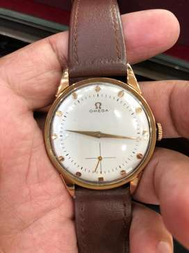 Omega Rose Gold Hand Wind