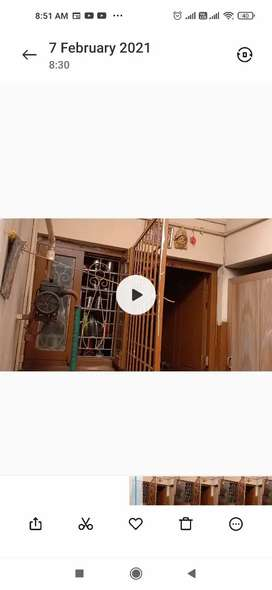 Independent house near satyam junction sale
