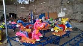odong odong mini coaster kereta lantai EK fiber animal waterpark lampu