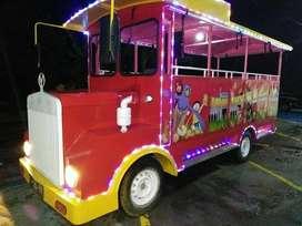 kereta mini wisata odong mesin mobil wahana mainan anak komedi safari