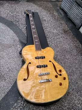 Bass washburn hollow body original natural