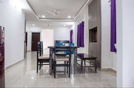 Fully Furnished  sharing room for rent 3bhk flat