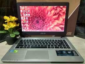 Asus A46CB Core i3-3217 Ivy/RAM 4GB/Dual Nvdia GT740M 128Bit Premium
