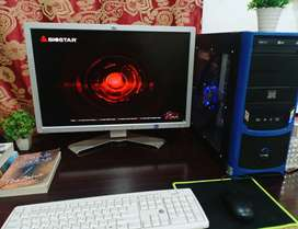 AMD. A10-5800K with Radeon HD Graphics with HP LCD 26 Inchs