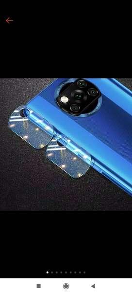 pelindung kamera dan skin belakang POCO X3 NFC