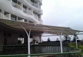 Layanan jasa pasang canopy membrane harga permeter