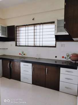 Covered campus 3bhk flat with modular Kitchen Call me for more details