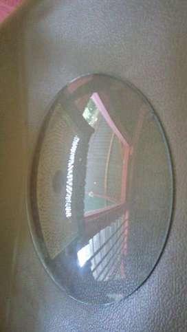 Kaca cembung jam antik ukuran diameter 22